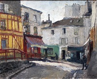 montmartre by georges guido filiberti