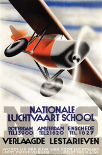 nationale luchtvaart school by kees van der laan