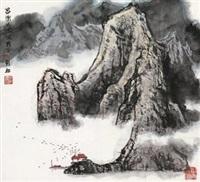 山水 by xu qinsong
