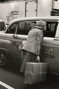taxi, new york city by helen levitt