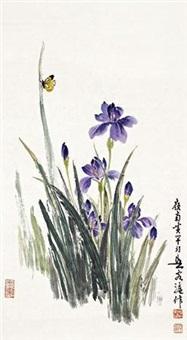 鸢尾蝴蝶 by huang huanwu