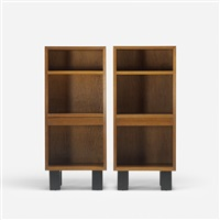 nightstands (model 4608) (pair) by george nelson & associates