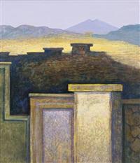 Walls under a landscape, 1997