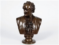 bust of a man by christian daniel rauch