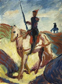 don quichotte by august macke