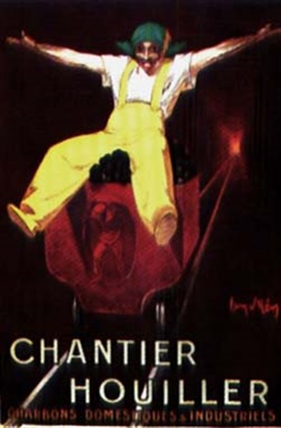 chantier houiller charbons domestiques amp industriels poster by jean d ylen