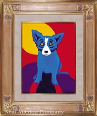 the sun shines on me by george rodrigue