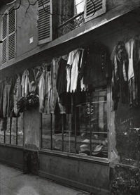 boutique by berenice abbott and eugene atget