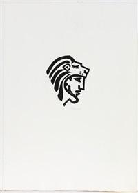 die 12 taten des herakles (portfolio of 11 incl. 2 titles) (+ ohne title (from der see); 13 works) by werner gothein