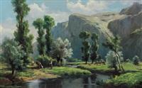 paesaggio d'ivrea by francesco bosso