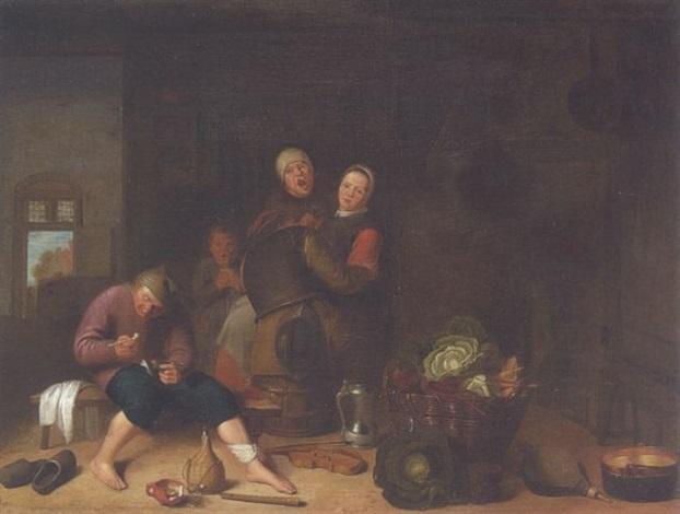 bäuerliches interieur by pieter van den bos