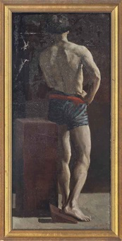 the male model by william barnes wollen