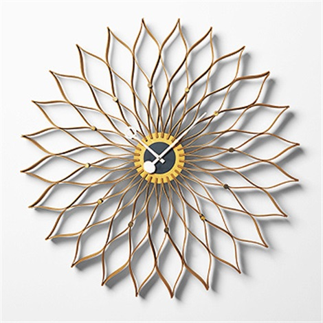 Sunflower Clock, Model 2261 By George Nelson