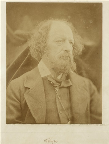 portrait of alfred tennyson 1809 1892 by julia margaret cameron