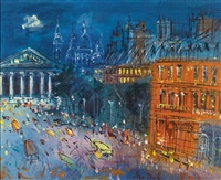 rue royale by jean dufy