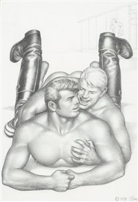 utan titel by tom of finland