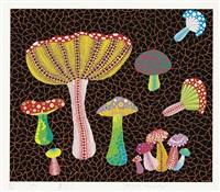toadstools by yayoi kusama