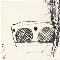 红梅 (plum) by deng lin
