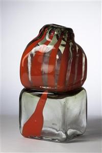 vase heckenrosen by jiri jetmar