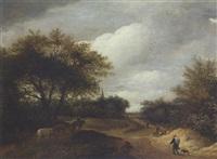 haarlemer landschaft by guillam dubois