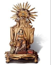 santa ana enseñando a leer a la virgen by ramón amadeu
