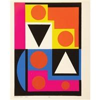 temoinages pour l'art abstrait 1952 (30 plates) by julien alvard and roger van gindertael