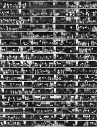 spectators on balconies by eddie adams