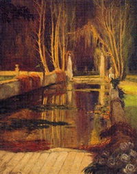 the reflecting pool by henry james albright