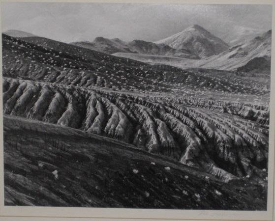 volcanic desert, death valley by bob kolbrener
