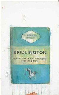 bridlington - ninety million miles from the sun by harland miller