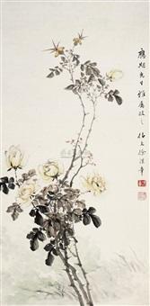 花卉 by xu hanzhang