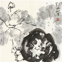 墨荷图 (ink lotus) by deng lin