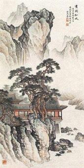 画阁松风 by ma dai