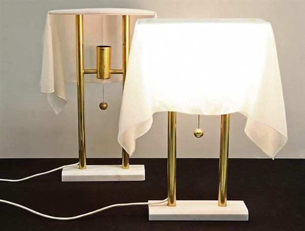 Due lumi da tavolo asta l appartamento di un collezionista