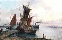 barcos de pescadores by josé gartner de la peña