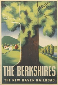 the berkshires/the new haven railroad by ben nason