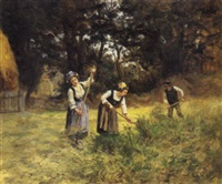 le coin de ferme by eugène labitte