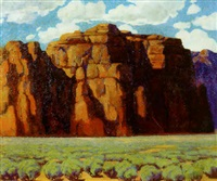 new mexico landscape by gordon fiscus