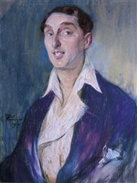 autoportrait by jean-gabriel domergue