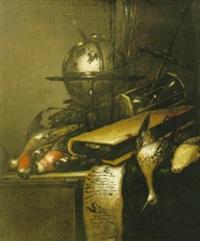 vanitasstilleben by petrus schotanus