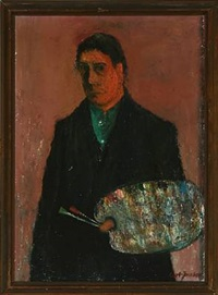 the artist's self portrait by cort jacobsen