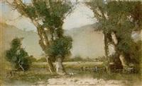 trees - narrabeen by erik (sir) langker