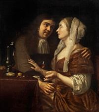 das liebespaar by frans van mieris