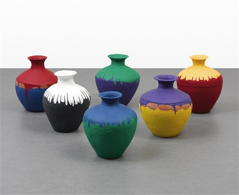 Colored Vases By Ai Weiwei On Artnet