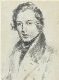 robert schumann (1810 - 1856) by f. mannheim
