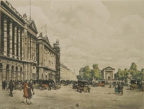 place de la concorde paris by t frantisek simon