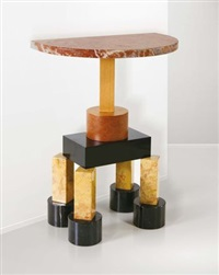 consolle demistella by ettore sottsass