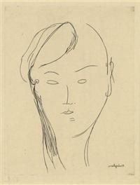 portrait de jeune fille by amedeo modigliani