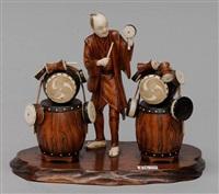 le marchand de tambours by japanese school-meiji (19)