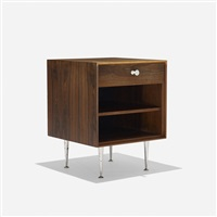 thin edge nightstand (model 5707) by george nelson & associates